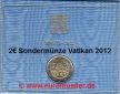 Vatikan  Vatikan    ...2 Euro Sondermünze 2012...Weltfamilientreffen