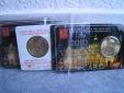 Vatikan 2010 5 x Coincard Nr. 1 <i>Petersdom</i> mit 50 Euro-Cent Vatikan Mü