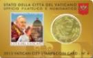 50 Cent Coincard Vatikan 2013, 50.Anniversario Della Morte Di Giovanni XXIII
