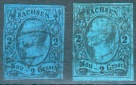 Sachsen,Lot 2 Marken Mi.-Nr,10ao,co Michel 85€