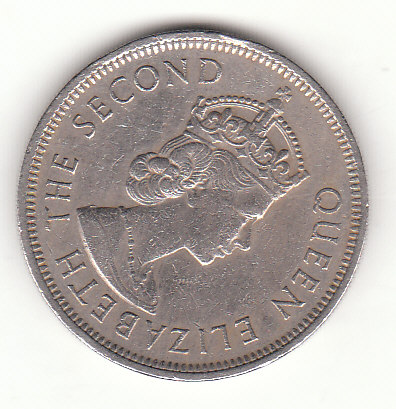 1 Dollar Hong Kong 1972  (F050)