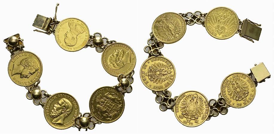 Muenzauktioncom 2493479 Raugewicht Armband 506 G Davon 3585 G