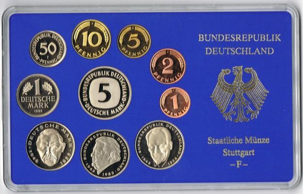 Muenzauktioncom 2515297 Deutschland Kursmünzensatz Staatliche