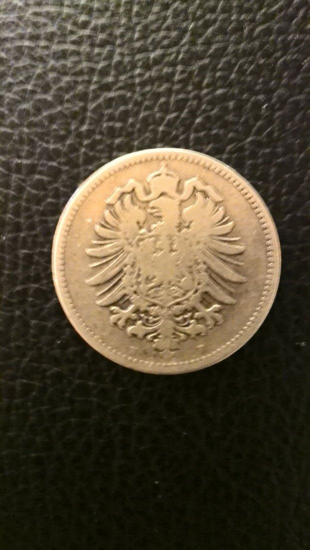 Muenzauktioncom 2868394 1 Mark 1874 H Kleiner Adler Jaeger 9 Xxl