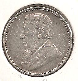 South Africa - 6 Pence 1897 silber
