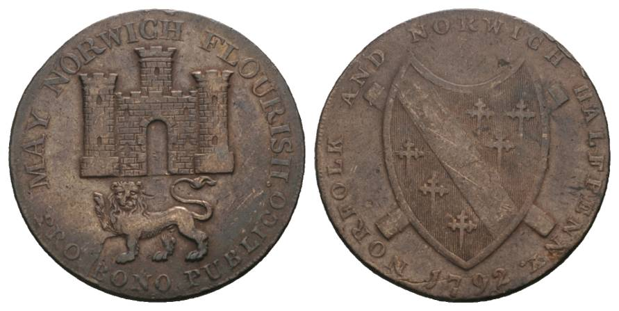 Token Great Britain 1792