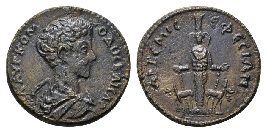 Antike; Commodus 177-192; Bronzemünze 12,30 g