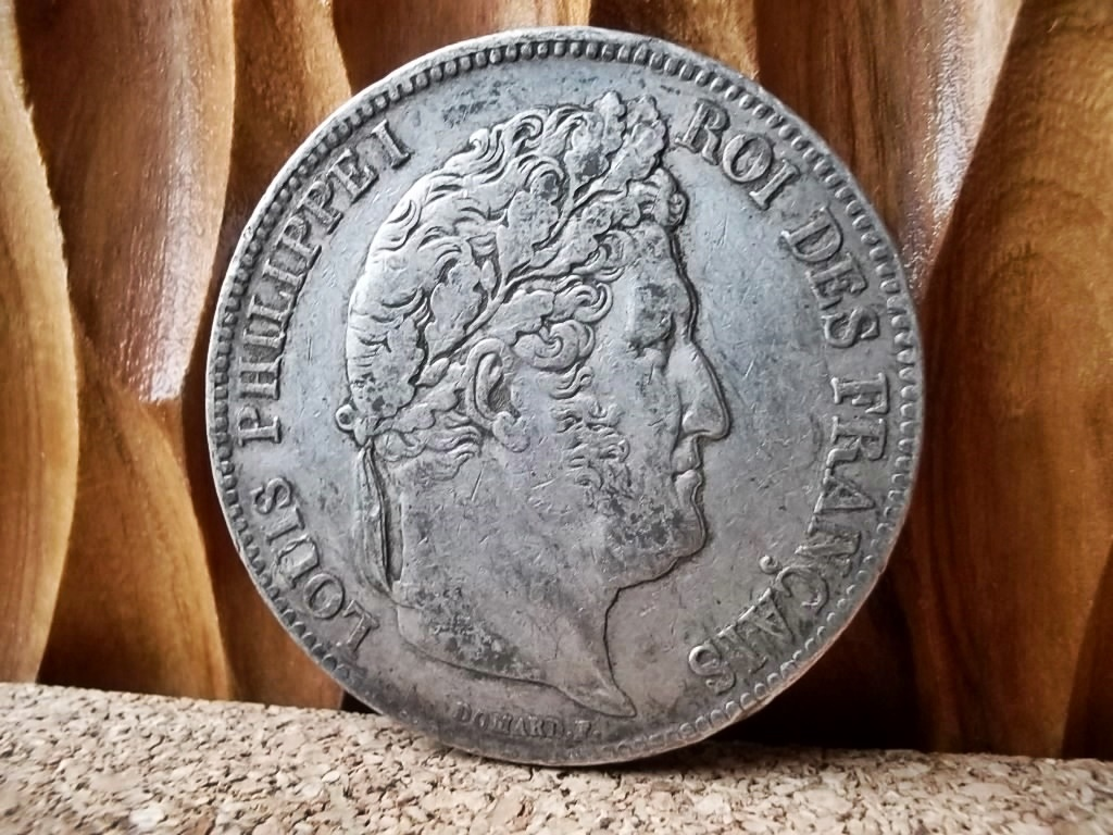 Frankreich: Silber - Louis Philippe I 5 Francs 1835 A