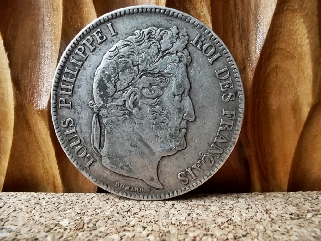 Frankreich: Silber - Louis Philippe I 5 Francs 1836 A