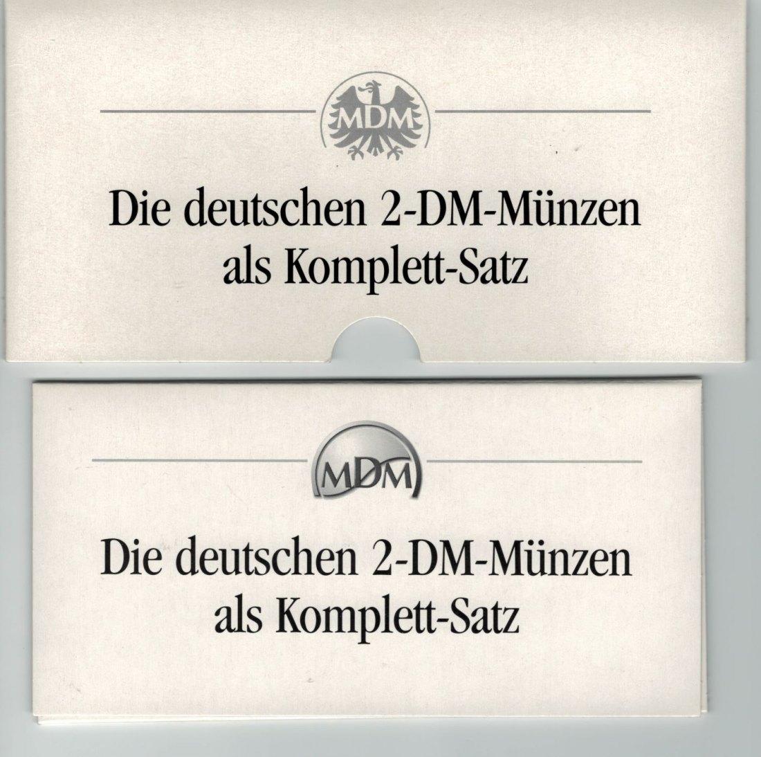 Muenzauktioncom 2898953 2 Mark Dm Münzen Komplett Satz 6 Stk