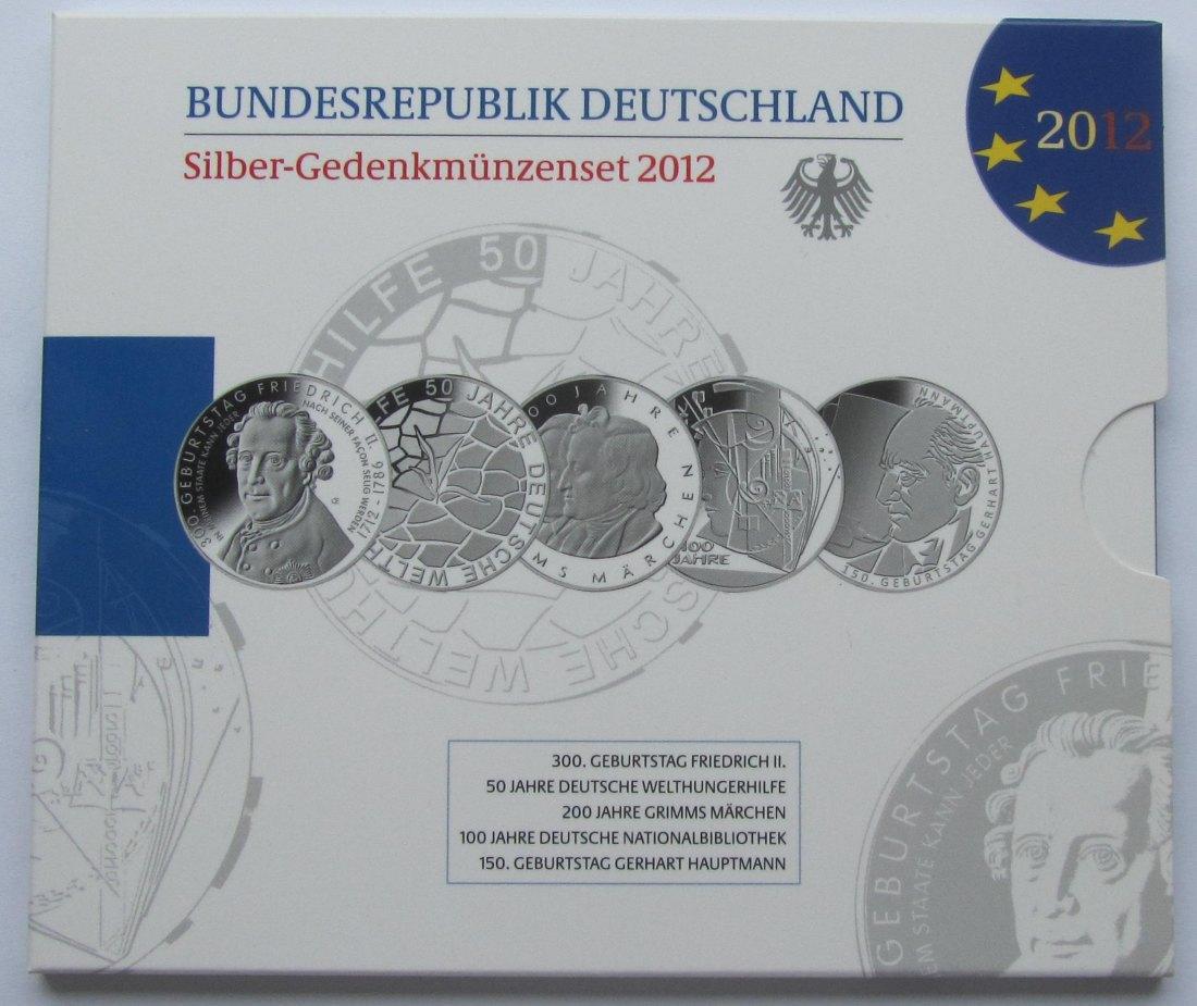 Muenzauktioncom 2901603 Deutschland 10 Euro Jahrgangsblister