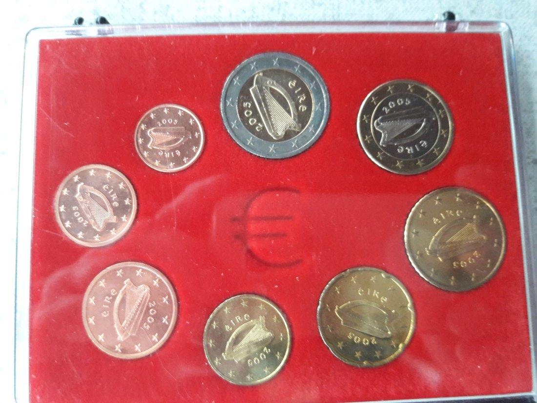 Muenzauktioncom 2905112 Kms Lose 8 Münzen 1 Cent 2 Euro 2002