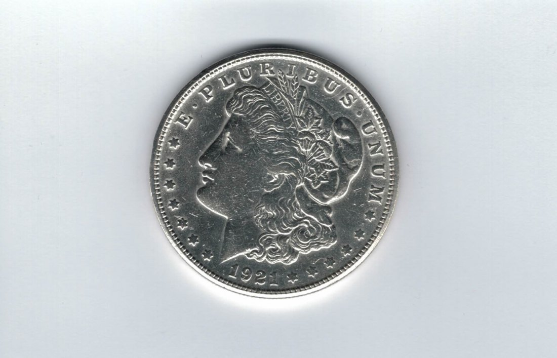 1 Dollar 1921 S Morgan (1878-1921) USA United States silber 900/1000 Spittalgold9800 (4782)
