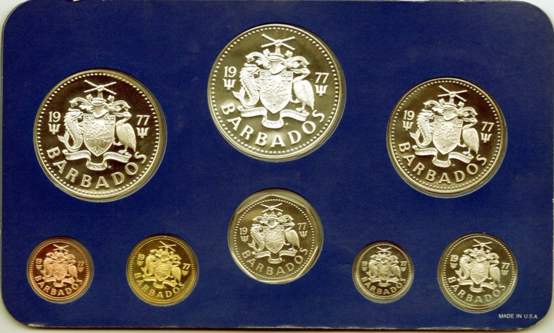 Barbados 1977 Proof Set    +++K005+++
