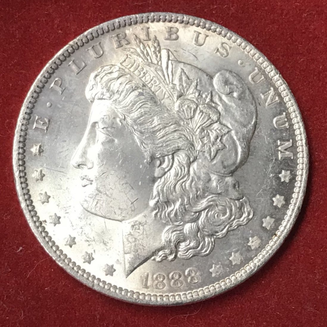 USA: Morgan Dollar 1888