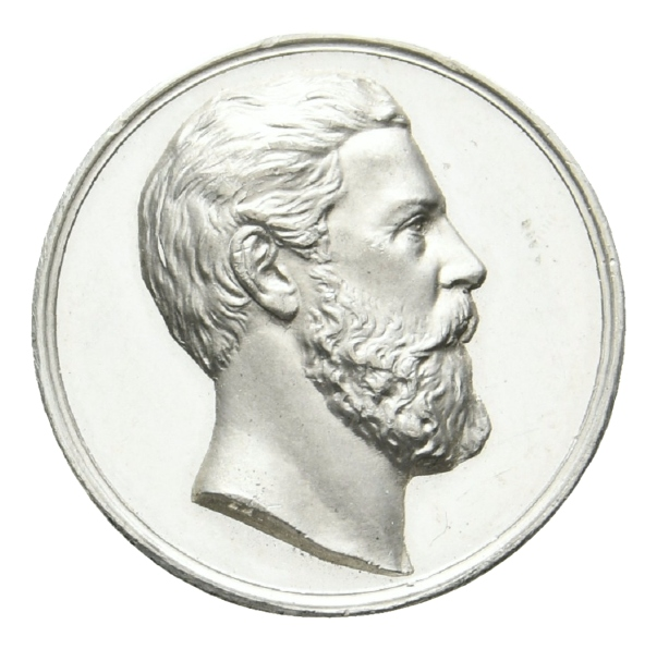 Preussen, Medaille o.J.; Nickel; 3,68 g, Ø 21,2 mm