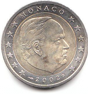 Muenzauktioncom 1902964 2 Euro Monaco 2002 A531