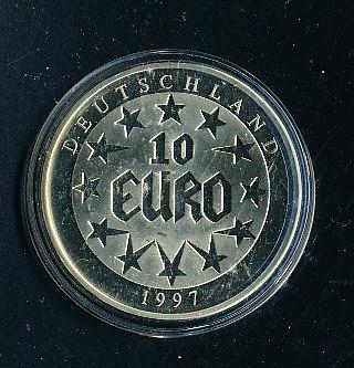 Muenzauktioncom 2195933 Deutschland 10 Euro 1997 Avers 10 Euro